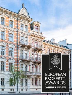 Kamienice Foksal 13/15 nagrodzone w konkursie European Property Awards